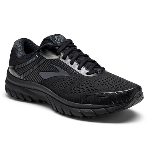 Brooks Adrenaline GTS 18 Men's Running Wide 4E Black, Black 1102714E026