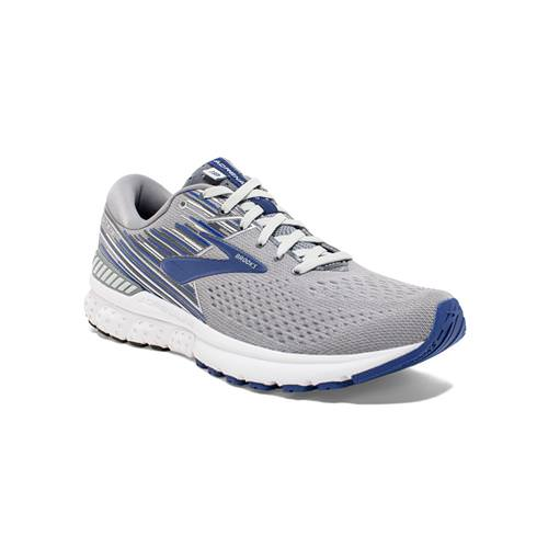 Brooks Adrenaline GTS 19 Men's Running Wide EE Grey, Blue, Ebony 1102942E058