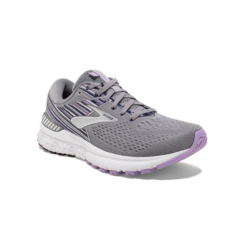 Brooks Adrenaline GTS 19 Women's Running Grey, Lavender, Navy 1202841B060