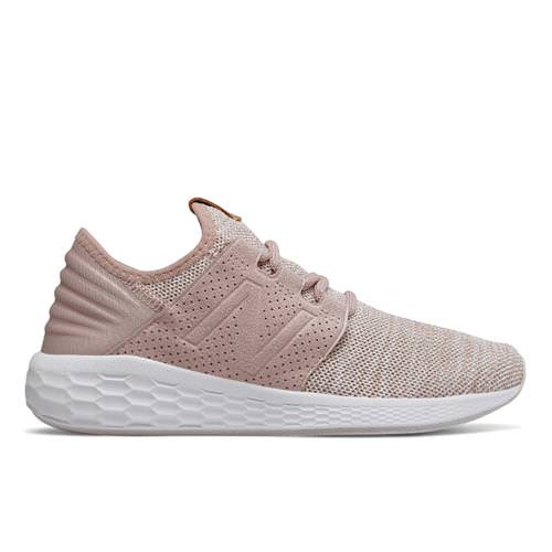 New Balance Fresh Foam Cruz v2 Knit Women's Charm, White WCRUZKC2