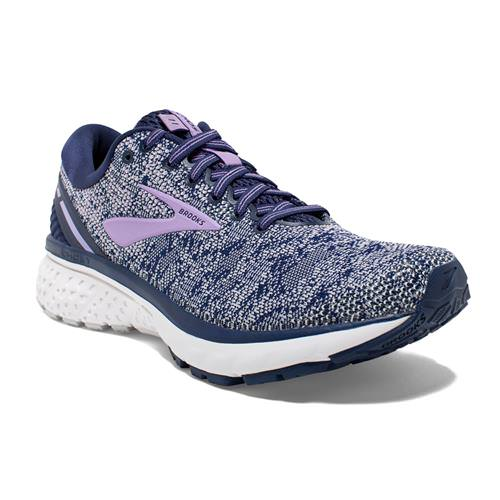 Brooks Ghost 11 Women's Running Navy, Grey, Purple Rose 1202771B406