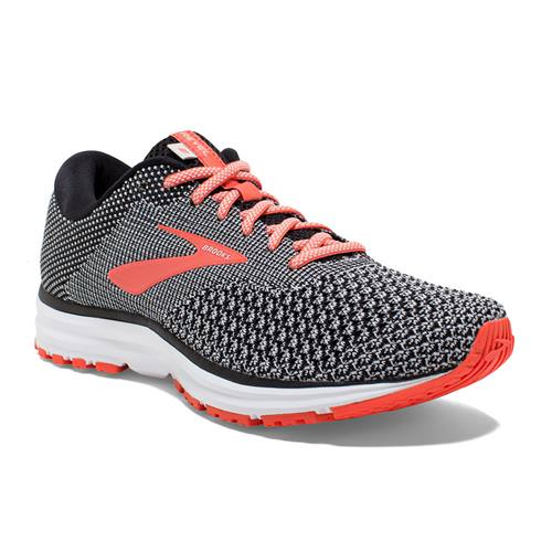 Brooks Revel 2 Women's Running Black, Light Grey, Coral 1202811B072