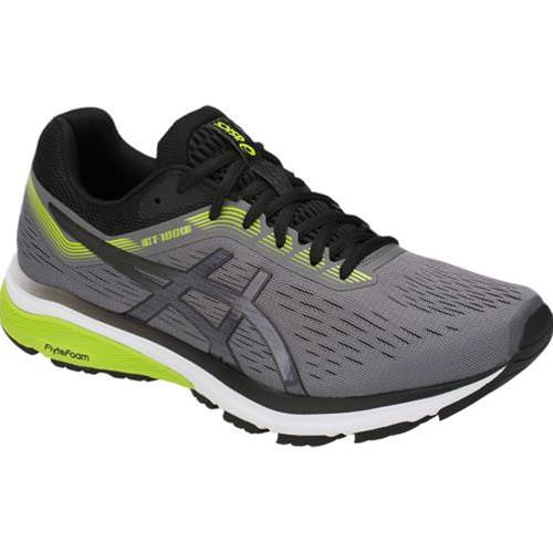 Asics GT-1000 7 Men's Running Shoe Wide 2E Carbon, Black 1011A038.021