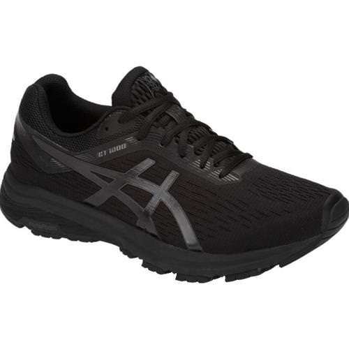 Asics GT-1000 7 Men's Running Shoe Wide 4E Black, Phantom 1011A041.001