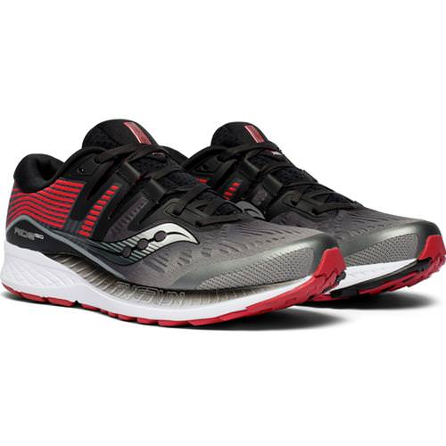 Saucony Ride ISO Men's Running Grey, Black S20444-5