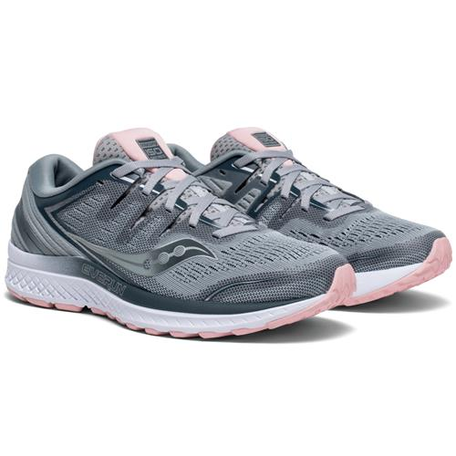 Saucony Guide ISO 2 Women's Running Grey, Blush S10464-2