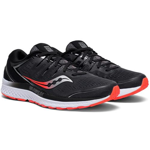 Saucony Guide ISO 2 WIDE EE Men's Running Black, Grey S20465-3