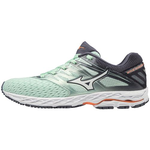 Mizuno Wave Shadow 2 Women's Running  Misty Jade, White 411000.4200