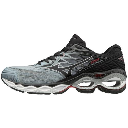 Mizuno Wave Creation 20 Men's Running Tradewinds, Black 411060.9T90
