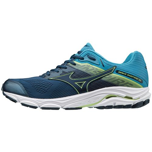 Mizuno Wave Inspire 15 Men's Running Shoes WIDE EE Blue Wing Teal, Dress Blue 411051.BW5Q