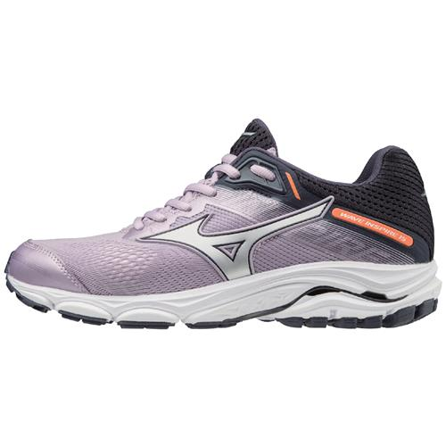 Mizuno Wave Inspire 15 Women's Running Shoes Lavender Frost, Silver 411052.6P73