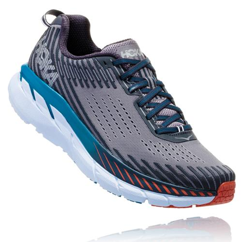 Hoka One One Clifton 5 Men's Frost Gray, Ebony 1093755 FGEB