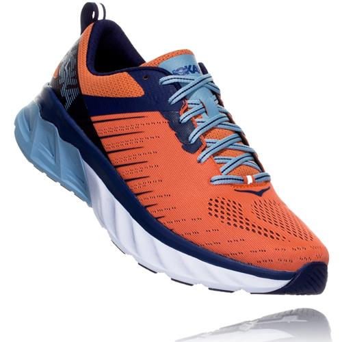 Hoka One One Arahi 3 Men's Nasturtium, Patriot Blue 1104097 NPTB