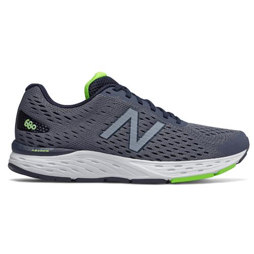 New Balance 680v6 Wide 4E Men's Pigment, RGB Green M680LN6