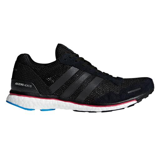 Adidas AdiZero Adios 3 Women's Running Shoe Black, Real Magenta, Bright Blue AQ0192