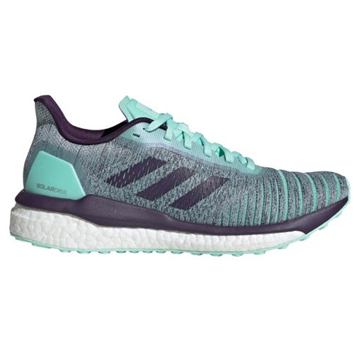 Adidas Solar Drive Women's Running Shoe Clear Mint, Legend Purple, Active Purple D97448