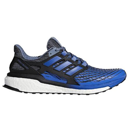 Adidas Energy Boost Men's Running Shoes Raw Steel, Hi-Red Blue, Black CP9539