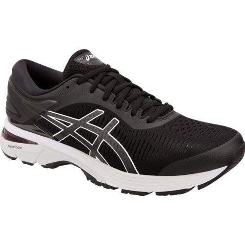 Asics Gel Kayano 25 Men's Running Shoe Black, Glacier Grey 1011A019 003