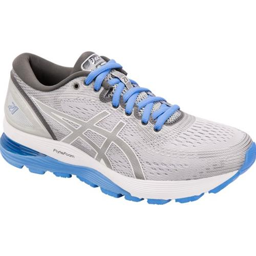 Asics Gel Nimbus 21 Women's Running Shoe Mid Grey, Dark Grey 1012A156 022