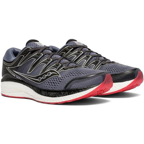 Saucony Hurricane ISO 5 Men's Wide EE Grey, Black S20461-1
