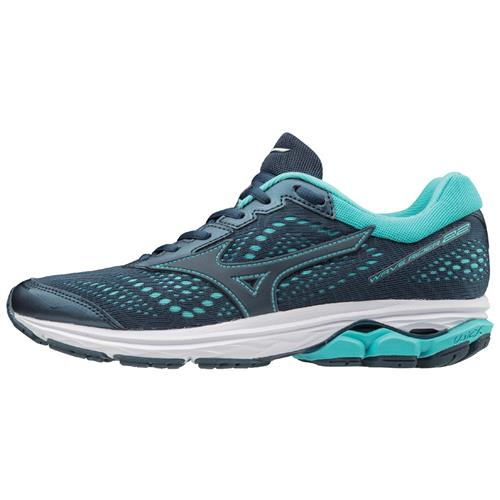 Mizuno Wave Rider 22 Women's Running Blue Wing Teal 410990.BWBW