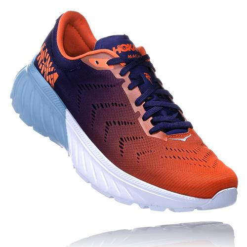 Hoka One One Mach 2 Men's Patriot Blue, Nasturtium 1099721 PBNS