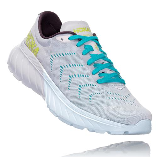 Hoka One One Mach 2 Women's White, Nimbus Cloud 1099722 WNCL