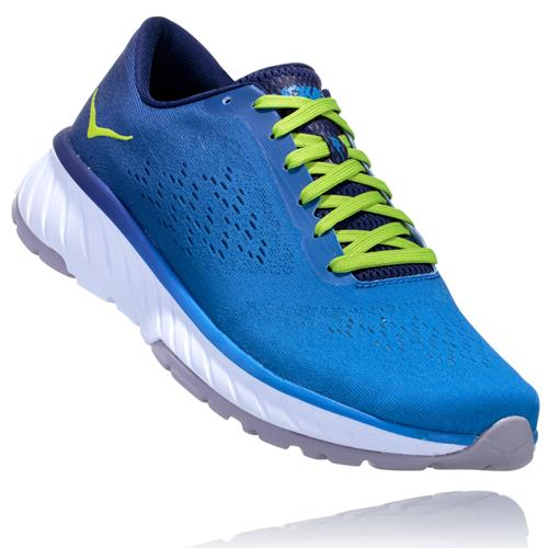 Hoka One One Cavu 2 Men's French Blue, Lime Green 1099723 FBLG