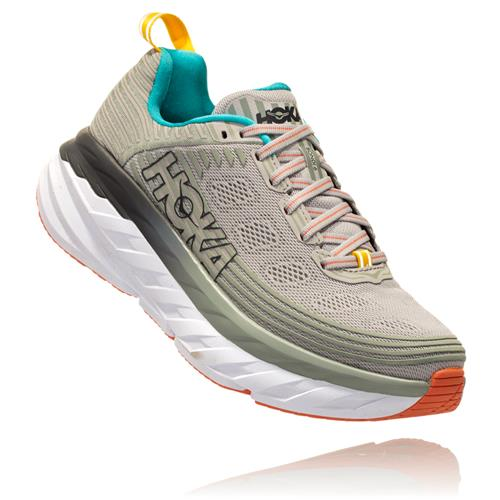 Hoka One One Bondi 6 Women's Vapor Blue, Wrought Iron 1019270 VBWI
