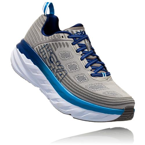 Hoka One One Bondi 6 Men's Wide EE Vapor Blue, Frost Grey 1019271 VBFG
