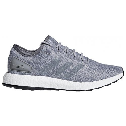 Adidas Pureboost Men's Running Shoes Grey Three, Grey Two BB6278