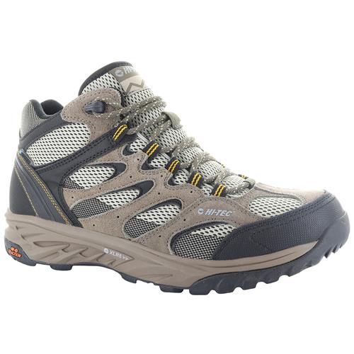 Hi-Tec Wild-Fire Mid I Men's Waterproof Hiking Boots Taupe, Dune, Core Gold 53100