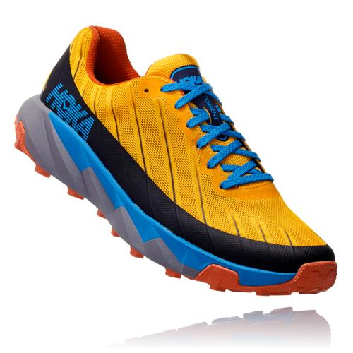 Hoka One One Torrent Men's Trail Gold Fusion, Dresden Blue 1097751 GFDBL