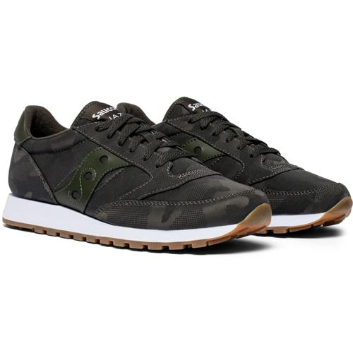 Saucony Jazz Original Camo Mens Charcoal S70445-2