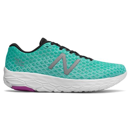New Balance Fresh Foam Beacon Women's Running Shoe Light Tidepool, Tidepool, Voltage Violet WBECNTP