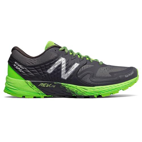 New Balance Summit K.O.M. Men's Trail Phantom, RGB Green, Silver Metallic MTSKOMGG