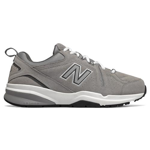 New Balance 608 v5 Men's Wide 4E Cross Trainer Grey Suede MX608UG54E