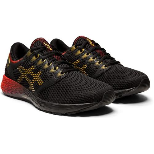 Asics Roadhawk FF 2 Men's Running Black, Rich Gold 1011A590 001