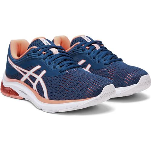 Asics Gel-Pulse 11 Women's Wide D Running Mako Blue, Sun Coral 1012A607 401