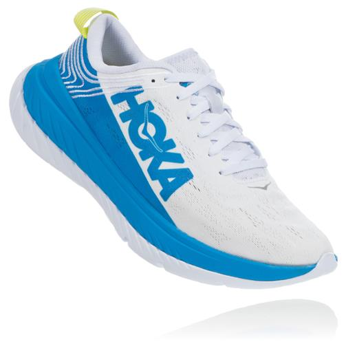 Hoka One One Carbon X Women's White, Dresden Blue 1102887 WDBL