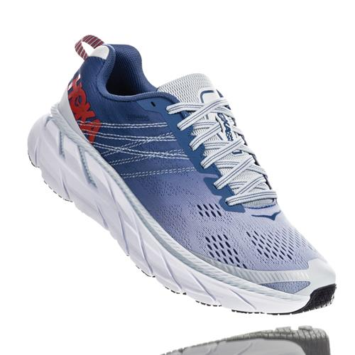 Hoka One One Clifton 6 Women's Wide D Plein Air, Moonlight Blue 1102877-PAMB