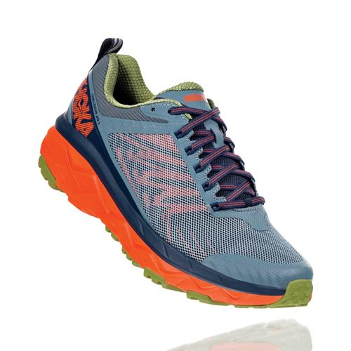 Hoka One One Challenger ATR 5 Wide EE Men's Trail Stormy Weather, Moonlit Ocean 1104095 SWMOC