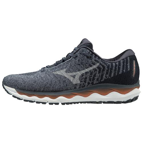 Mizuno Wave Sky Waveknit 3 Men's Running Flintstone, Vapor Blue 411106.9ZVB