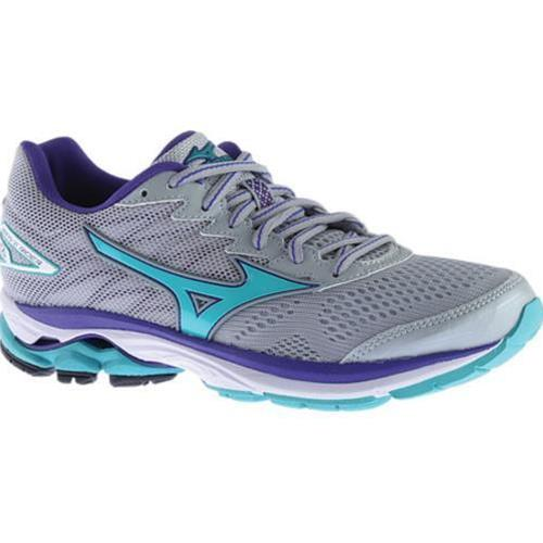 Mizuno Wave Rider 20 Women's Running High Rise, Turquoise, Liberty 410867.9156