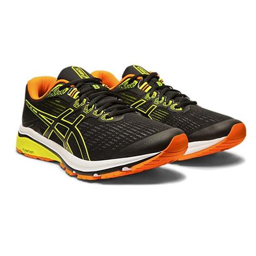 Asics GT-1000 8 Men's Running Shoe Black, Safety Yellow 1011A540 003