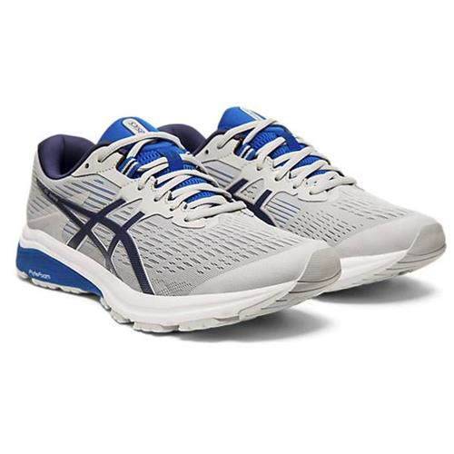 Asics GT-1000 8 Men's Running Shoe Wide 4E Mid Grey, Peacoat 1011A539 020