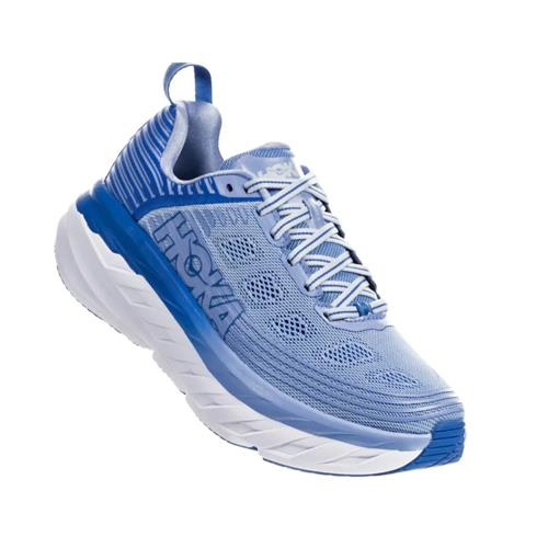 Hoka One One Bondi 6 Women's Wide D Serenity, Palace Blue 1019272 SPCB