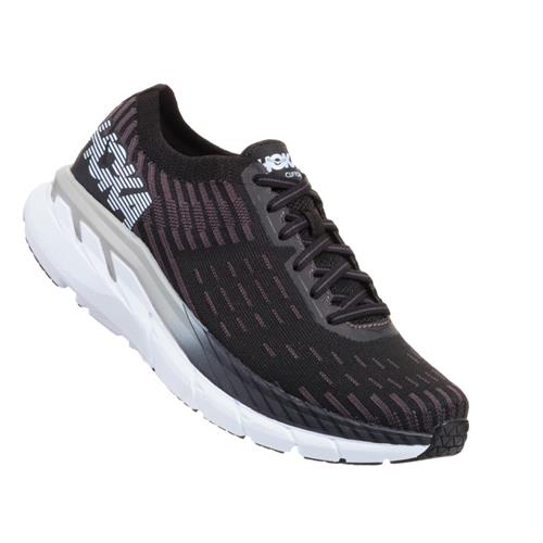 Hoka One One Clifton 5 Knit Men's Black, White 1094309 BWHT