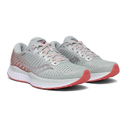 Saucony Guide 13 Women's Running Sky Grey, Coral S10548-45