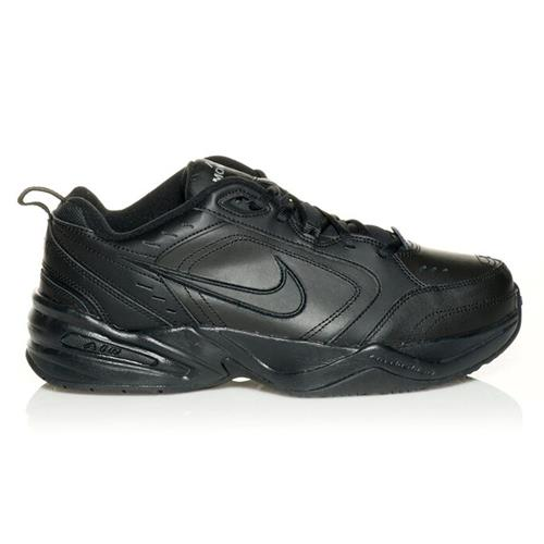 Nike Air Monarch IV Wide 4E Training Shoes Black, Black 416355-001